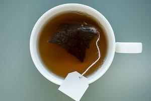 Tea in a mug