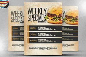 Weekly Specials Flyer Template v2