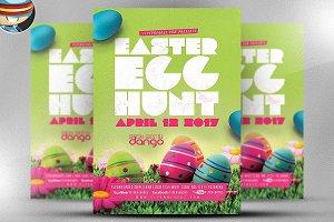 Easter Egg Hunt Flyer Template v2