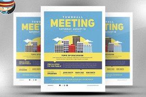Community Meeting Flyer Template v2
