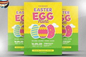 Easter Egg Hunt Flyer Template v3