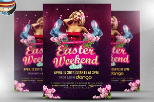 Sexy Easter Bash Flyer Template