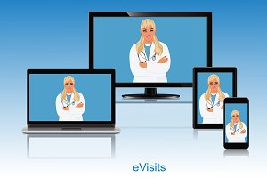 Doctor appointment, online visit