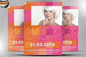 Sunny Sundays Flyer Template