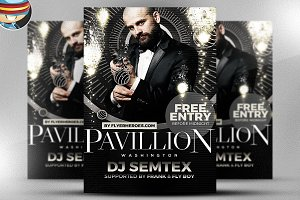 Pavillion Flyer Template