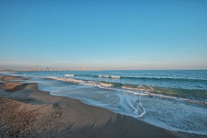Pinedo beach, Valencia, Spain