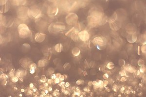 Blurred Christmas Glitter Background