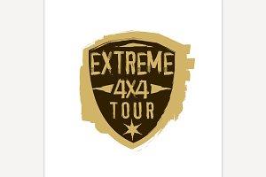 Extreme 4x4 Emblem