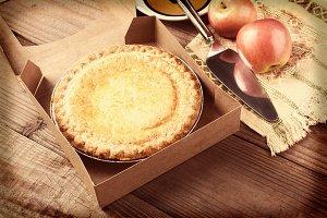Instagram Apple Pie Still Life
