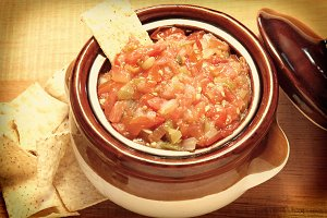 Instagram Salsa and Chips