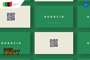 QR Minimal - Business Card 39