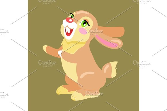 Milk Chocolate Bunny Sweetness Holiday Mascot