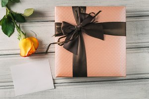 Beautiful gift boxed for holiday and