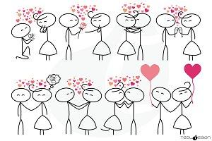 Stick Figure Love Stick People