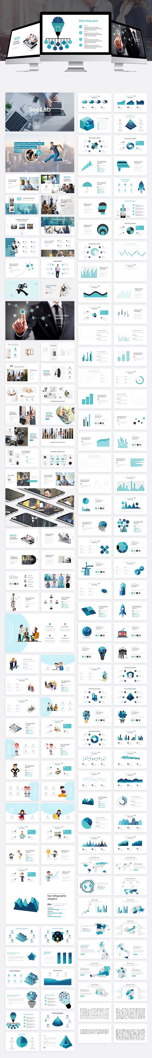 SeoLab Business Agency Google Slide