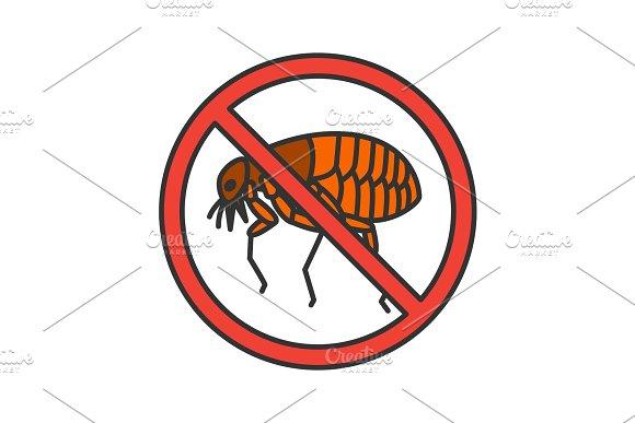 Stop Fleas Color Icon