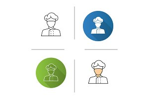 Chef cook icon