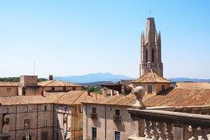 Gerona Roofs, Catalonia, Spain