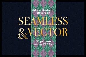 Art Deco vector patterns