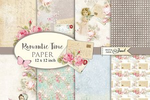 Romantic Time Paper