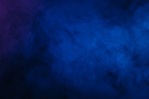 Abstract blue purple smoke