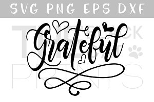 Grateful SVG DXF PNG EPS
