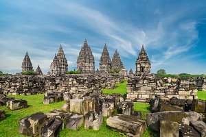 Shrine of Prambanan Hindu temple