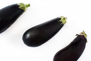 Raw eggplant