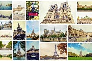 Collage France Paris