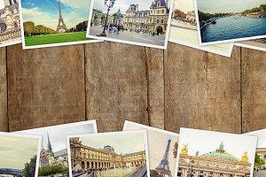 Collage France Paris.