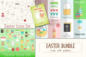 Easter Bundle - Icons and Posters