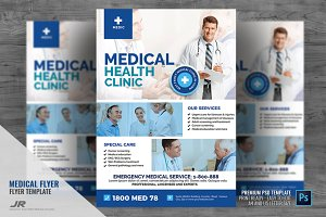 Medical Clinic Services Flyer