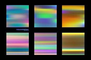 Fluid colors backgrounds set