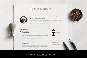 Professional Modern CV for Word