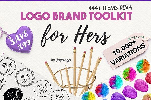 Diva Handdrawn Logo Creator + Extra…