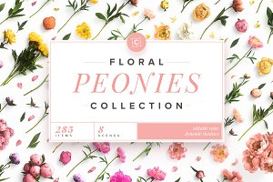 Floral Peonies Collection