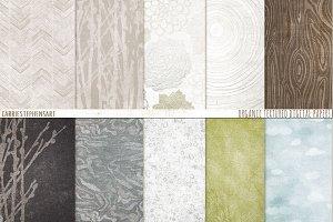 Natural Organic Pattern Paper