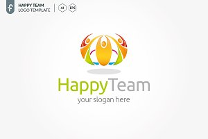 Happy Team Logo