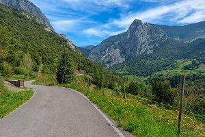 By Allende in the peaks of europe