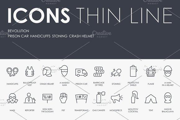 Revolution Thinline Icons