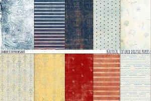 Nautical Digital Paper, Textured