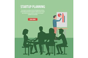 Startup Planning with Whole Team Illustration