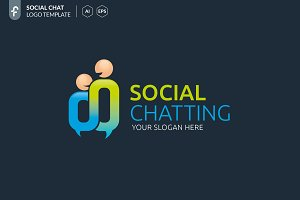 Social Chatting Logo