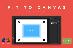 Fit to Canvas Script for PS and Ai