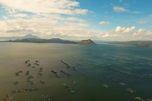 Taal Volcano, Tagaytay, Philippines.