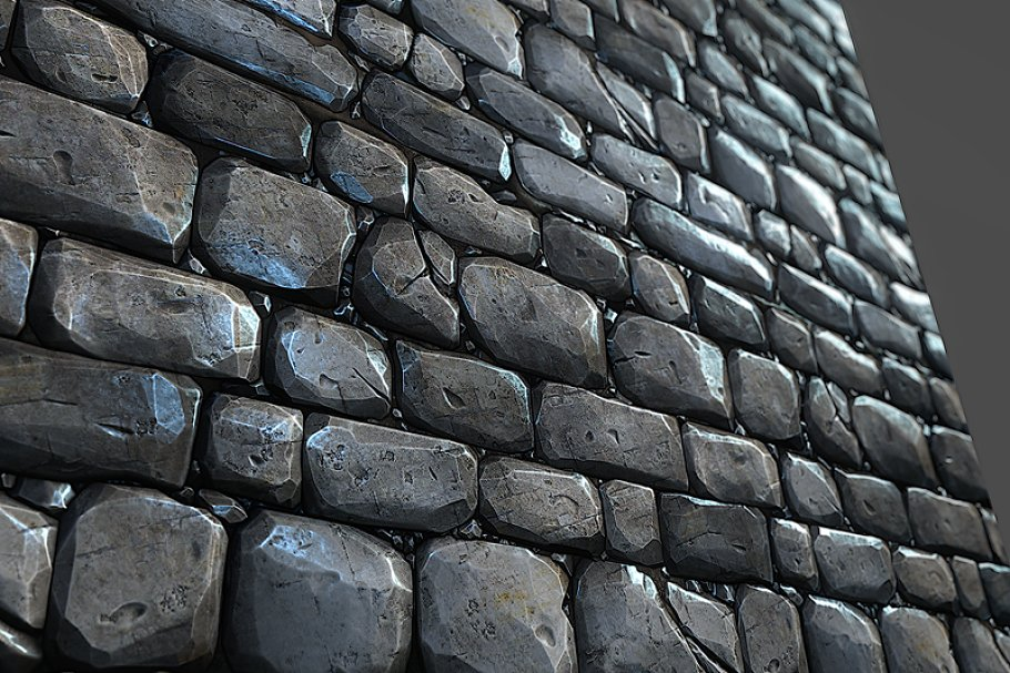 Stone Wall Tile 01