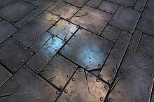 Metal Plate Tile 01 by  in Metal