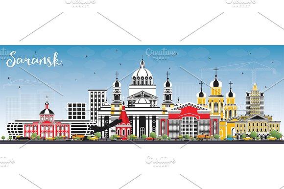 Saransk Russia City Skyline