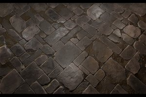 Stone Floor Tile 02