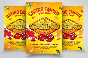 Casino Royal Psd Flyer Template